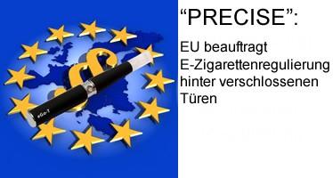 E-Zigarettenregulierung hinter verschlossenen Türen