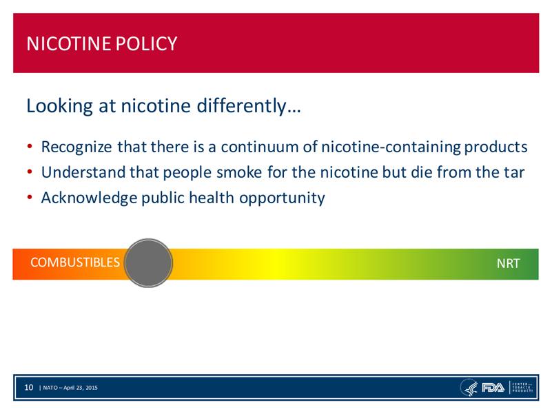 Was ist Nikotin - Zeller FDA