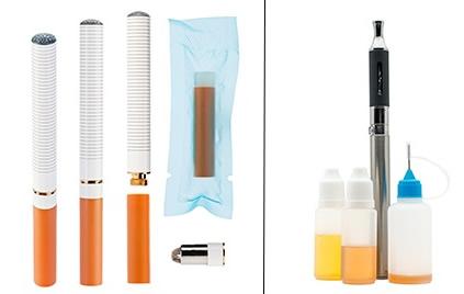 E-Zigarette vs Dampfgerät