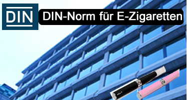 Din-Norm für E-Zigaretten