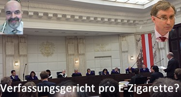 Verfassungsgericht pro E-Zigarette?