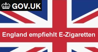 England pro eZigarette