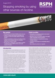 rauchstopp mit Nikotin Alternativen
