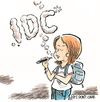 E-Zigaretten Forschung und Jugendliche