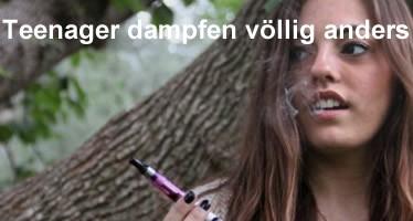 Teenager und E-Zigaretten