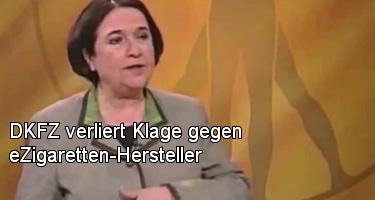 DKFZ verliert Klage gegen eZigaretten-Hersteller
