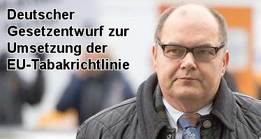 Deutscher Gesetzentwurf zur EU-Tabakrichtlinie