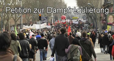 Petition zur Dampfregulierung
