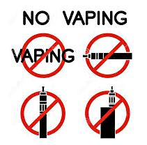 Dampfen verboten