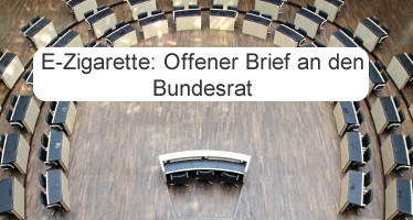 E-Zigarette im Bundesrat