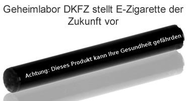 Geheimlabor DKFZ stellt E-Zigarette der Zukunft vor