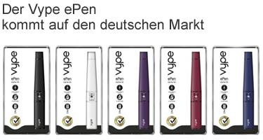 der vype ePen kommt nach Deutschland