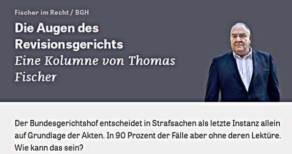 BGH Richter Prof. Fischer