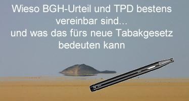 Wieso BGH-Urteil und TPD bestens vereinbar sind