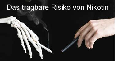 Das (tragbare) Risiko von Nikotin