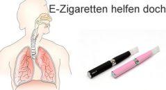 E-Zigaretten helfen doch bei Asthma