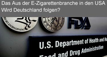 FDA-Regulierung der elektronischen Zigarette