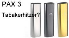 PAX 3 Tabakerhitzer