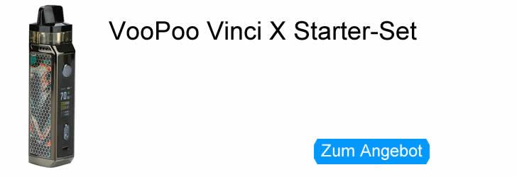 VooPoo Vinci X Starter-Set