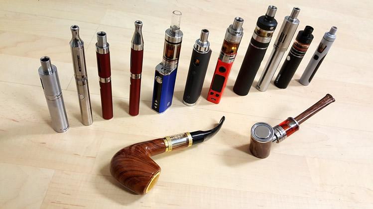 E-Zigarettenmarken in Deutschland und weltweit